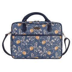 CPU-AUST | Jane Austen's Blue Computer Laptop Bag Case 15.6