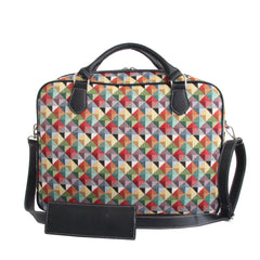 CPU-MTRI | Multicolor Triangle Computer Laptop Bag Case 15.6
