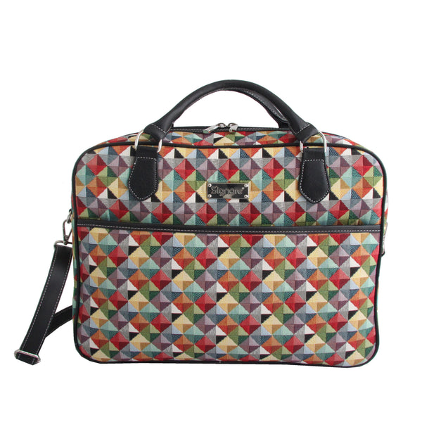 "CPU-MTRI | Multicolor Triangle Computer Laptop Bag Case 15.6"" - www.signareusa.com"