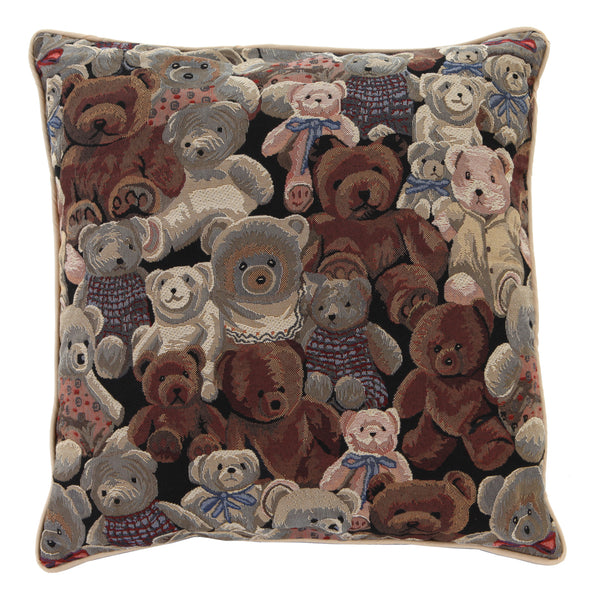 CCOV-BEA | BEAR PILLOWCASE/CUSHION COVER | DECORATIVE DESIGN FASHION HOME PILLOW 18X18 INCH - www.signareusa.com