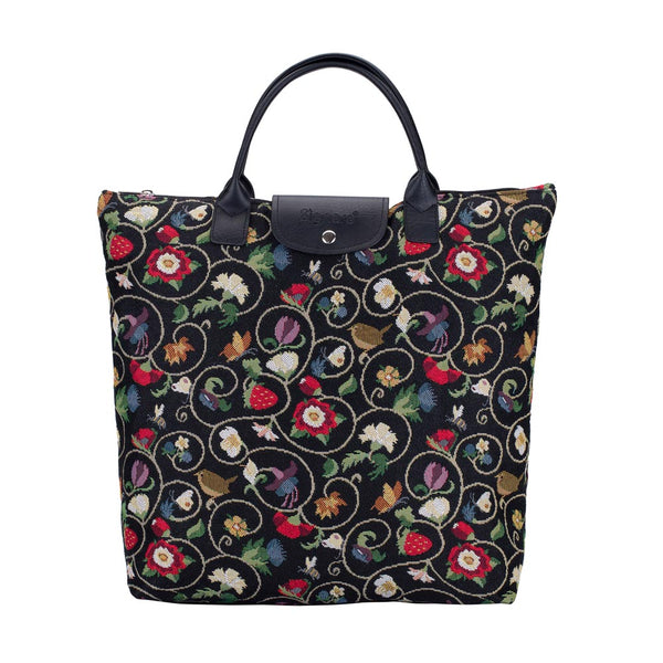 FDAW-JACOB | Jacobean Dream FOLDABLE REUSABLE GROCERY BAG - www.signareusa.com