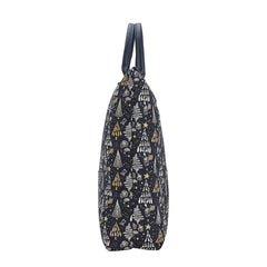 FDAW-XMAS-TREE | XMAS TREE FOLDABLE REUSABLE GROCERY BAG