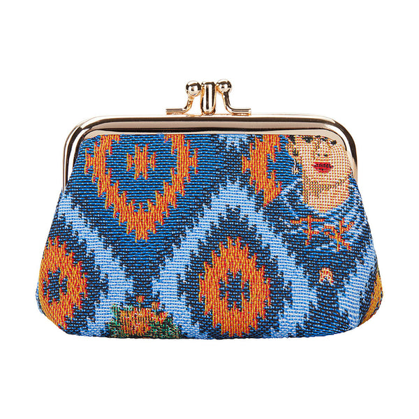 FRMP-FKICON | FRIDA KAHLO COIN CLASP FRAME PURSE WALLET