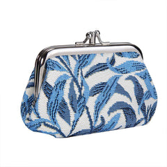 FRMP-WIOW | WILLIAM MORRIS WILLOW BOUGH COIN CLASP FRAME PURSE WALLET - www.signareusa.com