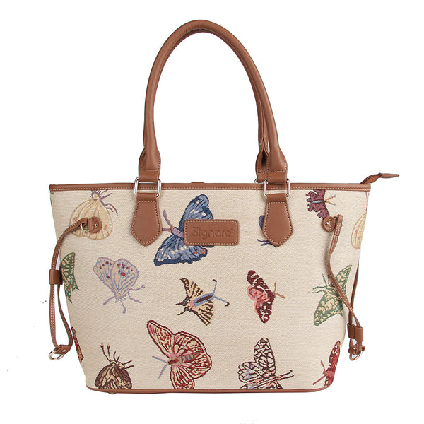 TOTE-BUTT | BUTTERFLY TOTE BAG SHOULDER HANDBAG - www.signareusa.com