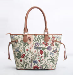 TOTE-MGD | MORNING GARDEN TOTE BAG SHOULDER HANDBAG - www.signareusa.com