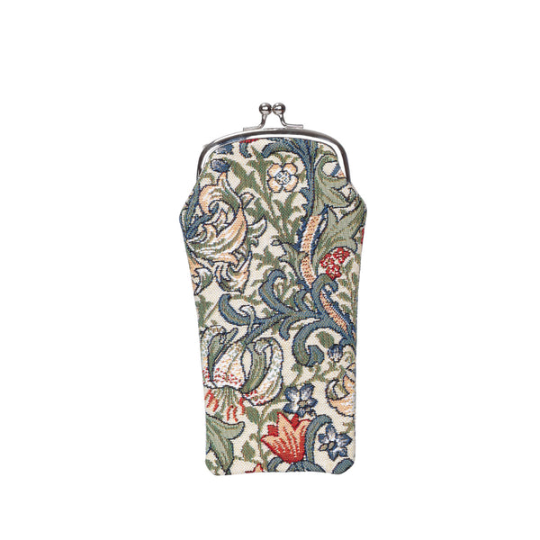 GPCH-GLILY | WILLIAM MORRIS GOLDEN LILY GLASSES SUNGLASSES POUCH CASE - www.signareusa.com