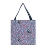 GUSS-BLOS |  Almond Blossom And Swallow Foldable Gusset Bag - www.signareusa.com