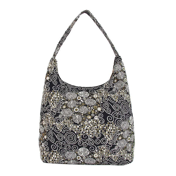HOBO-KISS | GUSTAV KLIMT THE KISS HOBO HANDBAG SHOULDER BAG - www.signareusa.com