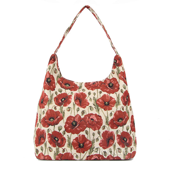 HOBO-POP | POPPY HOBO HANDBAG SHOULDER BAG - www.signareusa.com