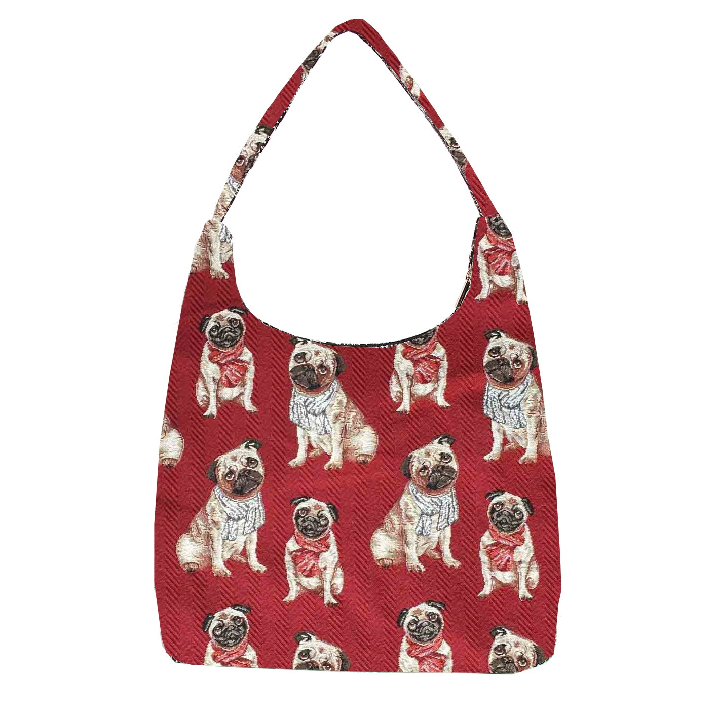 HOBO-PUG | PUG DOG HOBO HANDBAG SHOULDER BAG - www.signareusa.com