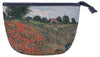 MAKEUP-ART-CM-POPFL | CLAUDE MONET POPPY FIELD MAKE UP COSMETIC BAG - www.signareusa.com