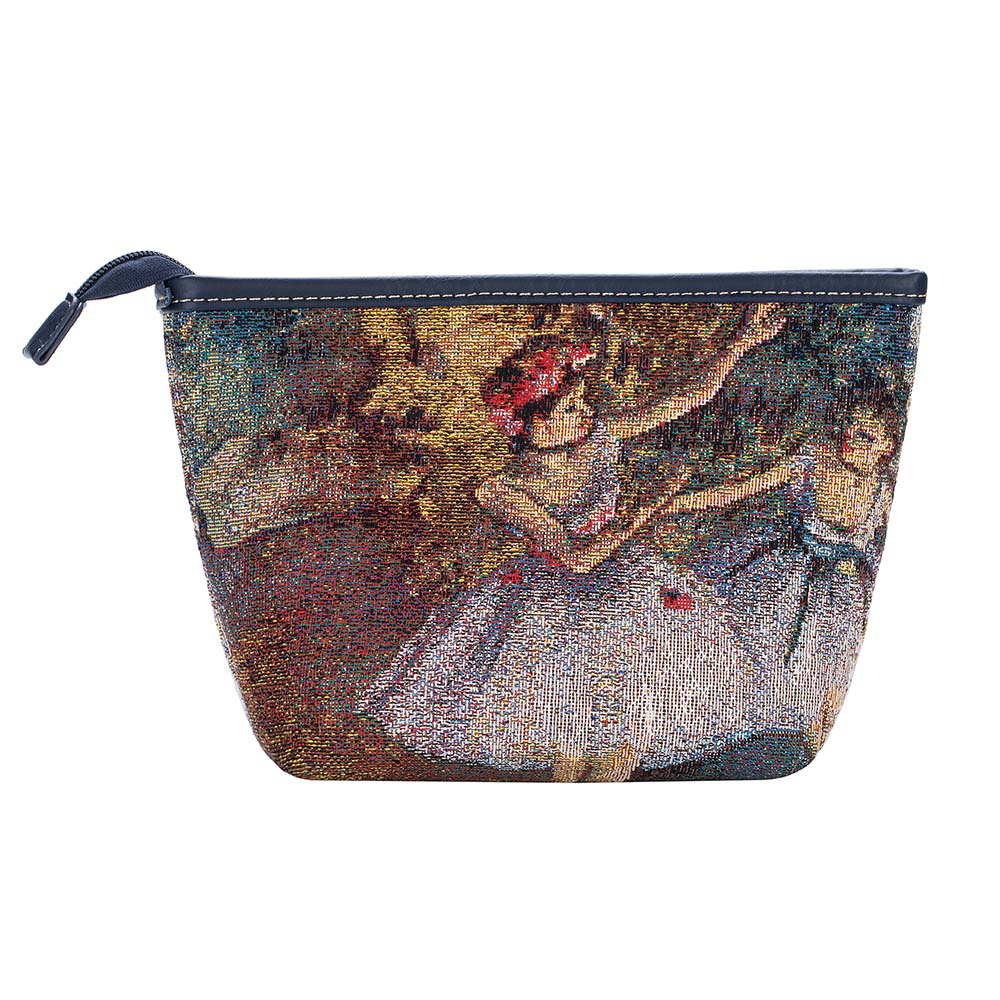 MAKEUP-ART-ED-BLR-2 | DEGAS TWO DANCERS ON A STAGE MAKE UP COSMETIC BAG - www.signareusa.com