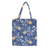 MECO-AUST | JANE AUSTEN BLUE MEDIUM ECO REUSABLE GROCERY TOTE BAG - www.signareusa.com