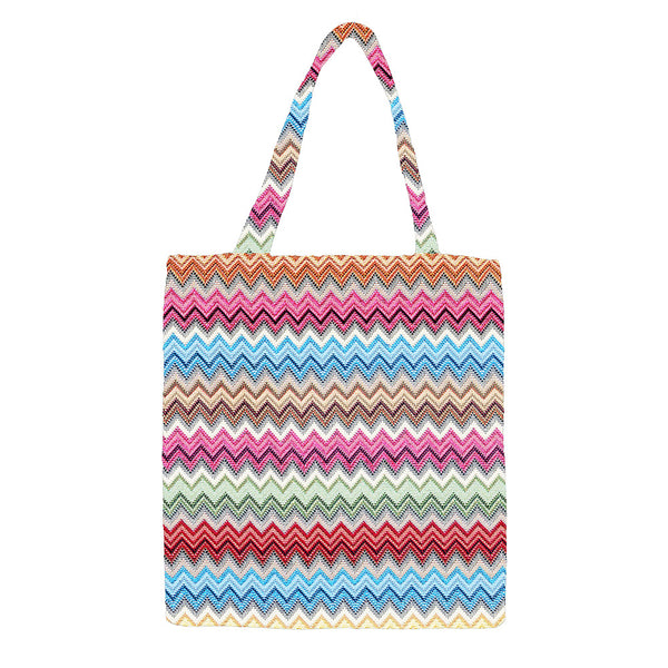 MECO-AZT | AZTEC MEDIUM ECO REUSABLE GROCERY TOTE BAG - www.signareusa.com