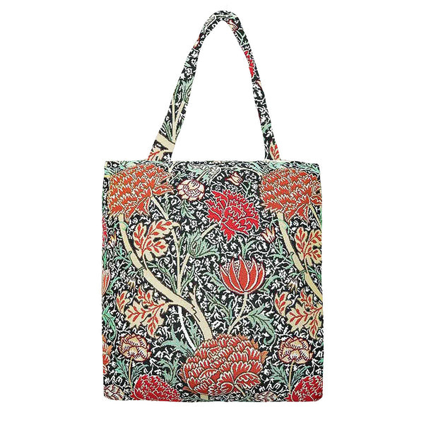 MECO-CRAY | WILLIAM MORRIS THE CRAY MEDIUM ECO REUSABLE GROCERY TOTE BAG - www.signareusa.com
