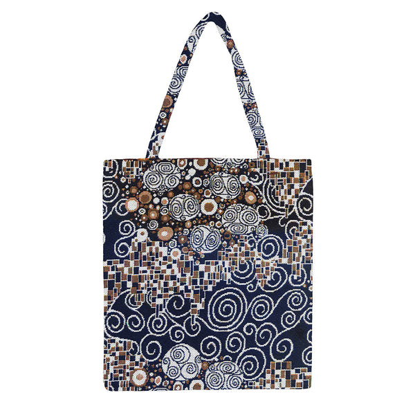 MECO-KISS | GUSTAV KLIMT THE KISS MEDIUM ECO REUSABLE GROCERY TOTE BAG - www.signareusa.com