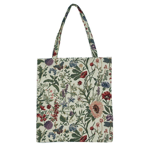 MECO-MGD | MORNING GARDEN MEDIUM ECO REUSABLE GROCERY TOTE BAG - www.signareusa.com