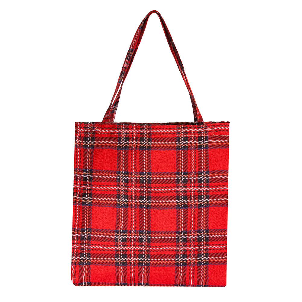 MECO-RSTT | ROYAL STEWART TARTAN MEDIUM ECO REUSABLE GROCERY TOTE BAG - www.signareusa.com