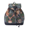 RUCK-STBL | WILLIAM MORRIS STRAWBERRY THIEF BLUE RUCKSACK - www.signareusa.com