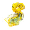 SC-BUTT-YELL | Yellow 100% Pure Silk Butterfly Scarf - www.signareusa.com