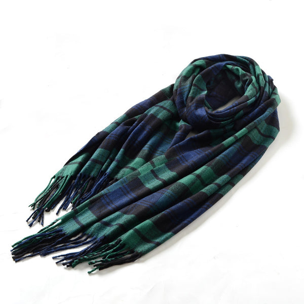 SC-TTN-BKWAT | Black Watch Tartan Plaid Scarf Shawl - www.signareusa.com