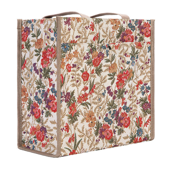 SHOP-FLMD | FLOWER MEADOW SHOPPER BAG - www.signareusa.com
