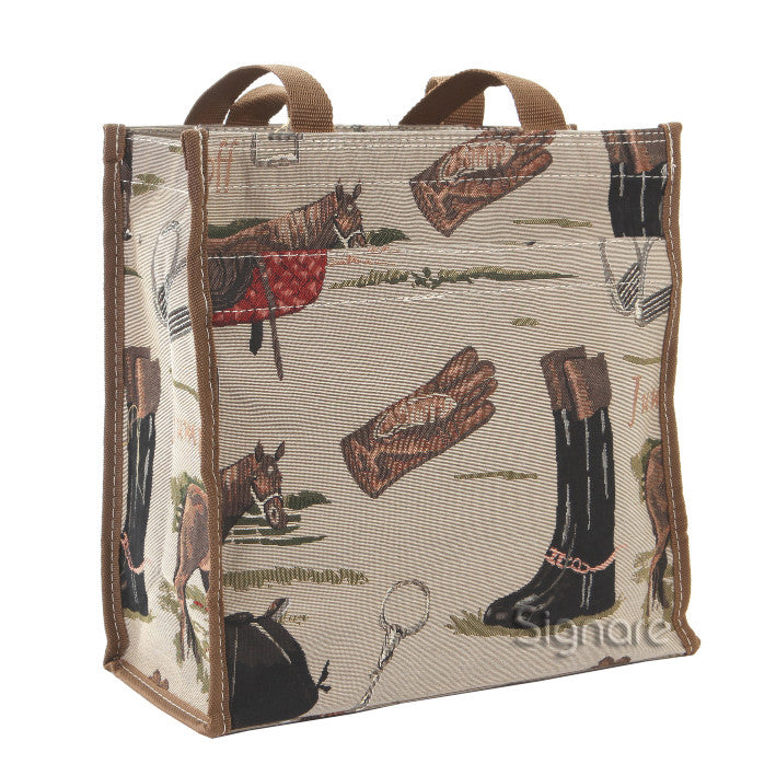 SHOP-HOR | HORSE SHOPPER BAG - www.signareusa.com