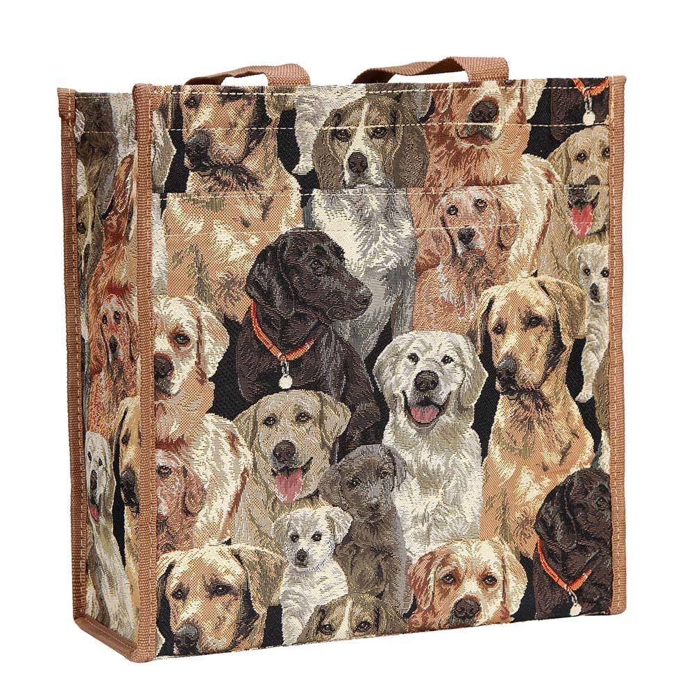 SHOP-LAB | LABRADOR DOG SHOPPER BAG - www.signareusa.com