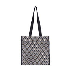 SHOP-LUXOR | BLACK AND WHITE LUXOR SHOPPER BAG - www.signareusa.com