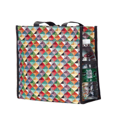 SHOP-MTRI | MULTICOLOR TRIANGLE SHOPPER BAG - www.signareusa.com