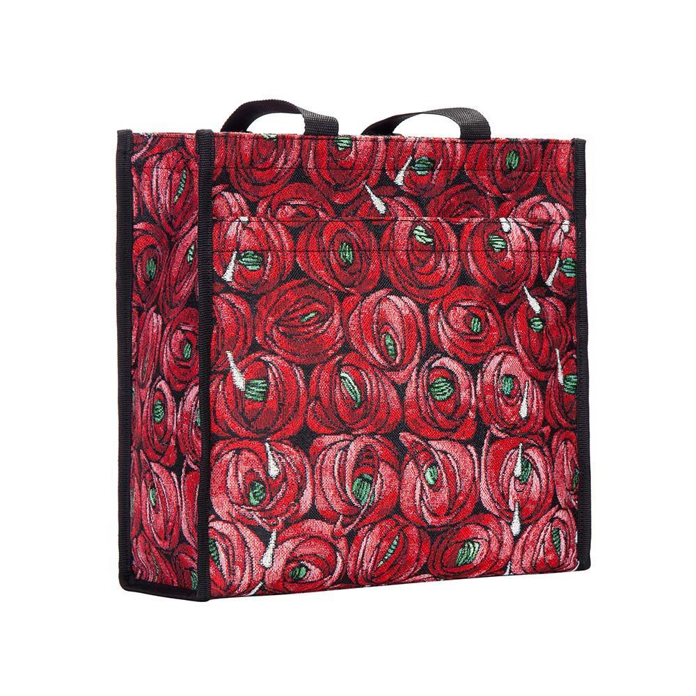 SHOP-RMTD | RENNIE MACKINTOSH ROSE AND TEARDROP SHOPPER BAG - www.signareusa.com