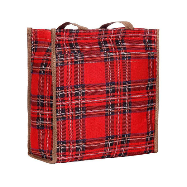SHOP-RSTT | ROYAL STEWART TARTAN SHOPPER BAG - www.signareusa.com