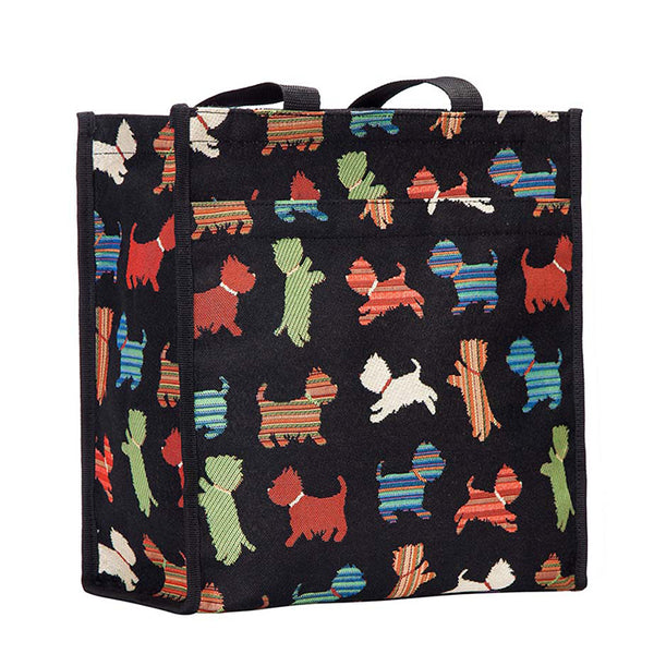 SHOP-SCOT | SCOTTIE DOG SHOPPER BAG - www.signareusa.com