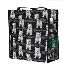 SHOP-WES | WESTIE DOG SHOPPER BAG - www.signareusa.com