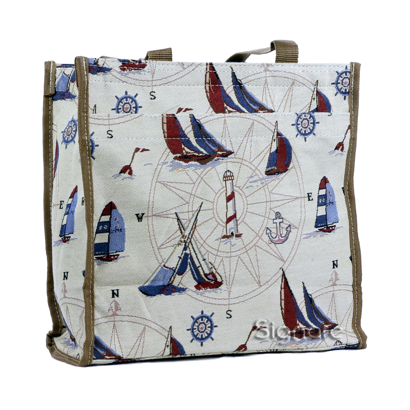 SHOP-YAC | YACHT SHOPPER BAG - www.signareusa.com