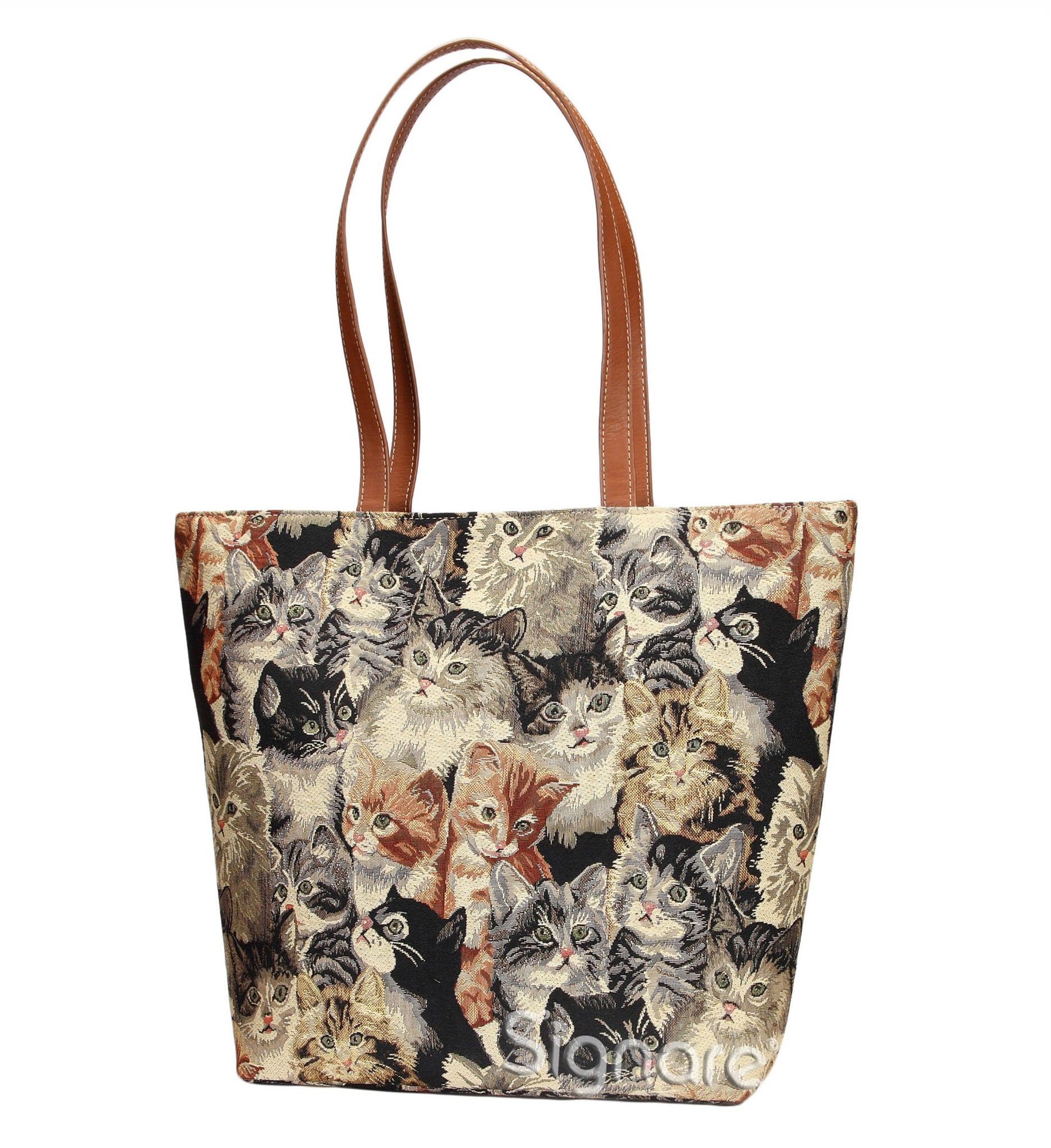 SHOU-CAT | CAT SHOULDER BAG TOTE HANDBAG - www.signareusa.com