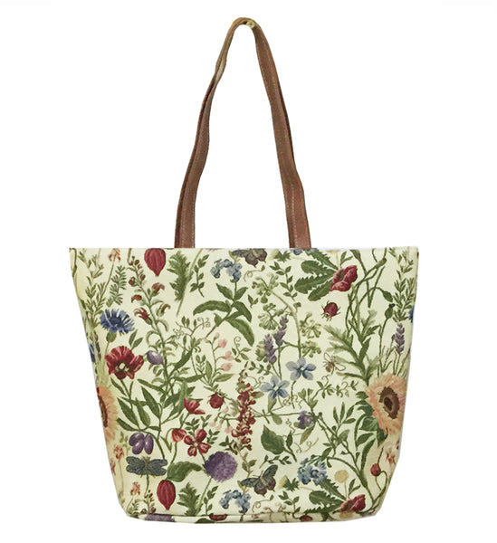 SHOU-MGD | MORNING GARDEN SHOULDER BAG TOTE HANDBAG - www.signareusa.com