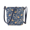 SLING-AUST | JANE AUSTEN BLUE SLING BAG PURSE CROSSBODY - www.signareusa.com