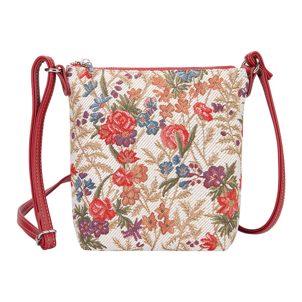 SLING-FLMD | FLOWER MEADOW SLING BAG PURSE CROSSBODY - www.signareusa.com