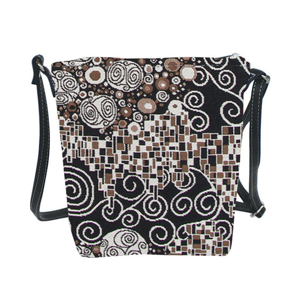SLING-KISS | GUSTAV KLIMT THE KISS SLING BAG PURSE CROSSBODY - www.signareusa.com
