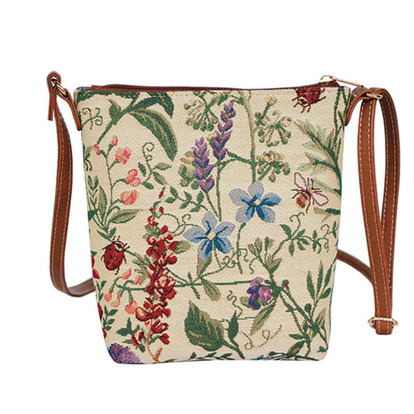 SLING-MGD | MORNING GARDEN SLING BAG PURSE CROSSBODY - www.signareusa.com