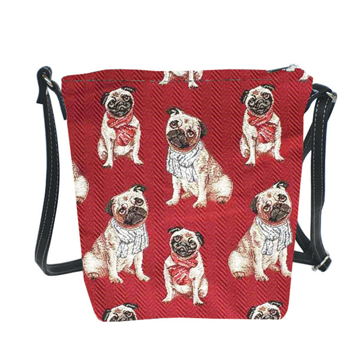 SLING-PUG | PUG DOG SLING BAG PURSE CROSSBODY - www.signareusa.com