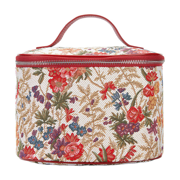 TOIL-FLMD | FLOWER MEADOW TOILETRY VANITY TRAVEL BAG - www.signareusa.com