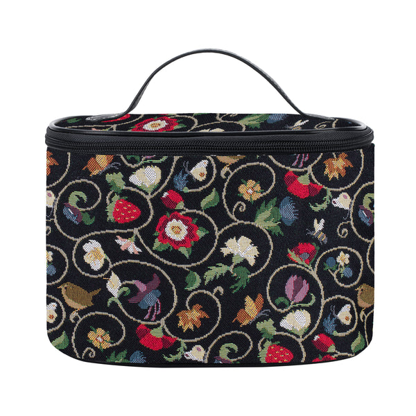 TOIL-JACOB | JACOBEAN DREAM TOILETRY VANITY TRAVEL BAG