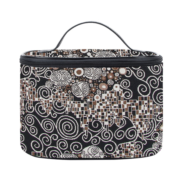 TOIL-KISS | GUSTAV KLIMT THE KISS TOILETRY VANITY TRAVEL BAG - www.signareusa.com