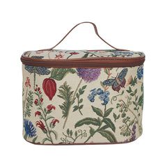 TOIL-MGD | MORNING GARDEN TOILETRY VANITY TRAVEL BAG - www.signareusa.com