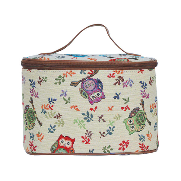 TOIL-OWL | OWL TOILETRY VANITY TRAVEL BAG - www.signareusa.com