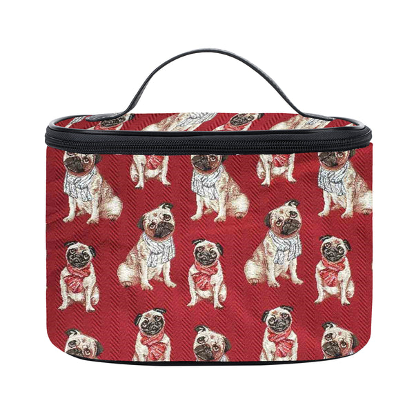 TOIL-PUG | PUG DOG TOILETRY VANITY TRAVEL BAG - www.signareusa.com