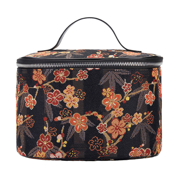 TOIL-SAKURA | UME SAKURA TOILETRY VANITY TRAVEL BAG - www.signareusa.com
